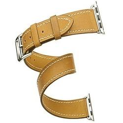 Ремешок для Apple Watch 42 мм (Cozistyle Leather Band CDLB018) (коричневый)