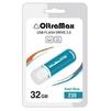 OltraMax 230 32GB (синий) - USB Flash driveUSB Flash drive<br>OltraMax 230 32GB - флеш-накопитель, объем 32Гб, USB 2.0, 15Мб/с, пластик.<br>