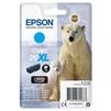 Картридж для Epson XP-600, XP-605, XP-700, XP-800 (C13T26324012) (голубой, повышенной емкости) - Картридж для принтера, МФУКартриджи<br>Совместим с моделями: Epson XP-600, XP-605, XP-700, XP-800.<br>