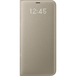 Чехол-книжка для Samsung Galaxy S8 Plus (LED View Cover EF-NG955PFEGRU) (золотистый)