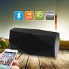 Ginzzu GM-891B - Колонка для телефона и планшетаПортативная акустика<br>Портативная Bluetooth колонка с FM-радио, аккумулятор 1500 mAh, аудио-плеер для microSD до 32 ГБ, AUX 3.5 мм для внешнего аудио-источника, поддержка MP3, WMA, до 6 часов воспроизведения музыки.<br>