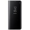 Чехол-книжка для Samsung Galaxy S8 Plus (Clear View Standing Cover EF-ZG955CBEGRU) (черный) - Чехол для телефонаЧехлы для мобильных телефонов<br>Чехол плотно облегает корпус и гарантирует надежную защиту от царапин и потертостей.<br>