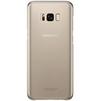 Чехол-накладка для Samsung Galaxy S8 (Clear Cover EF-QG950CFEGRU) (золотистый) - Чехол для телефонаЧехлы для мобильных телефонов<br>Чехол плотно облегает корпус и гарантирует надежную защиту от царапин и потертостей.<br>