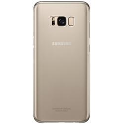Чехол-накладка для Samsung Galaxy S8 (Clear Cover EF-QG950CFEGRU) (золотистый)