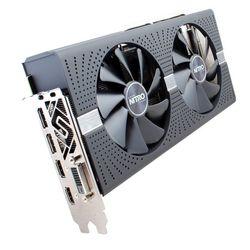 Sapphire Radeon RX 580 1411Mhz PCI-E 3.0 4096Mb 7000Mhz 256 bit DVI 2xHDMI HDCP Nitro+ RTL