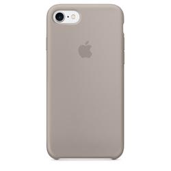 Чехол-накладка для Apple iPhone 7 (MQ0L2ZM/A) (серый)