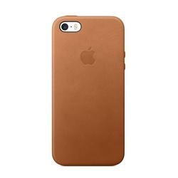 Чехол-накладка для Apple iPhone 5, 5s, SE (MNYW2ZM/A) (светло-коричневый)
