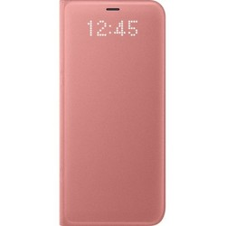 Чехол-книжка для Samsung Galaxy S8 Plus (LED View Cover EF-NG955PPEGRU) (розовый)