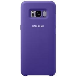 Чехол-накладка для Samsung Galaxy S8 (Silicone Cover EF-PG950TVEGRU) (фиолетовый)