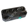 Сетевой фильтр 6 розеток 2м Most СRG (черный) - Сетевой фильтрСетевые фильтры<br>Выходные розетки с заземлением типа EURO: 4, выходные розетки типа EURO (плоские): 2, подавление высокочастотных помех, подавление импульсных помех, защита от короткого замыкания, длина 2м.<br>