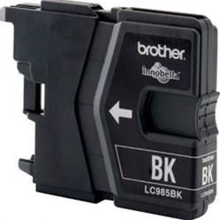 картридж для brother dcp-j315w, dcp-j515w, mfc-j265w brlc985bk (черный)