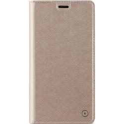 Чехол-книжка для Huawei Honor 6x (Muvit Folio Stand Case MUFLS0114) (золотистый)