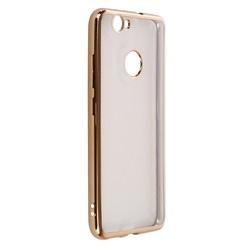 Чехол-накладка для Huawei Nova (Muvit Bling Case MLBKC0185) (золотистый)