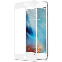 Защитное стекло для Apple iPhone 7 (Hardiz Premium Tempered Glass 3D Cover HRD170300) (белый)