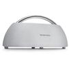 Harman Kardon Go + Play Mini (HKGOPLAYMINIWHTEU) (белый) - Колонка для телефона и планшетаПортативная акустика<br>Звук - стерео, мощность колонок - 2x50 Вт, питание - от сети, от батарей, диапазон воспроизводимых частот - 50 - 20000 Гц, отношение сигнал/шум - 80 дБ, количество полос AC - 2, ВЧ-динамик - 20 мм, НЧ-динамик - 90 мм.<br>