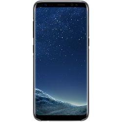 Чехол-накладка для Samsung Galaxy S8 (Samsung EF-QG950CBEGRU) (черный, прозрачный)