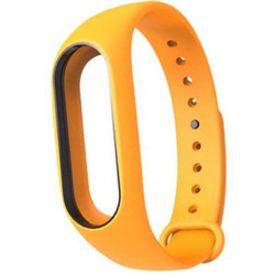 Ремешок для Хiaomi Mi Band 2 (Хiaomi Mi Band 2 Silicon 800922) (оранжевый)