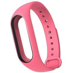 Ремешок для Хiaomi Mi Band 2 (Хiaomi Mi Band 2 Silicon 800924) (розовый)