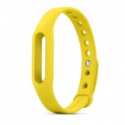 Ремешок для Хiaomi Mi Band (Хiaomi Mi Band Silicon 332810) (желтый)