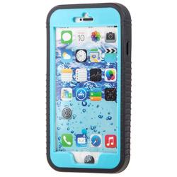Чехол для Apple iPhone 6 Plus (Waterproof 283535) (черный, голубой)