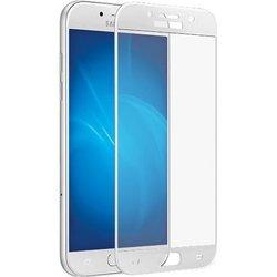 Защитное стекло для Samsung Galaxy A3 2017 (Onext 41230) (белая рамка)