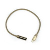 Адаптер Lightning- Jack 3.5 (F) (Smartbuy A-835 met) (золотистый) - Usb, hdmi кабельUSB-, HDMI-кабели, переходники<br>Переходник-адаптер с разъемами Lightning- Jack 3.5 (F), материал: хлопок + металл.<br>