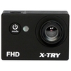 X-TRY XTC110 FHD (черный) - ВидеокамераВидеокамеры<br>Экшн-камера, запись видео Full HD 1080p на карты памяти, матрица 5 МП, карты памяти microSD, microSDHC, до 2 ч работы от аккумулятора, вес: 64 г.<br>