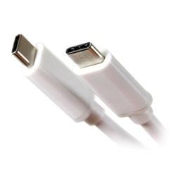 Кабель USB 3.1 Type Cm-Cm 1м (Telecom TC420) (белый)