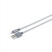 MFi-кабель USB-Lightning (Romoss CB13n-560-03-S) (серебристый) - Usb, hdmi кабель, переходникUSB-, HDMI-кабели, переходники<br>Кабель для быстрой зарядки и синхронизации, разъемы USB-Lightning, длина 1м.<br>
