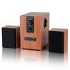 Dialog Progressive AP-150 (коричневый) - Колонка для компьютераКомпьютерная акустика<br>Число каналов: 2.1, мощность: 10 Вт, 20-20000 Гц, материал колонок: MDF, материал сабвуфера: MDF, пульт ДУ, радио.<br>