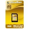 OltraMax SDHC Class 10 8GB - Карты памятиКарты памяти<br>Карта памяти, тип Secure Digital HC, Class 10, объем 8 Гб.<br>