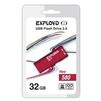EXPLOYD 580 32GB (красный) - USB Flash driveUSB Flash drive<br>32Гб, USB 2.0, 15Мб/с.<br>