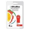 OltraMax 210 4GB (красный) - USB Flash driveUSB Flash drive<br>Флэш-накопитель 4 Гб, интерфейс USB 2.0, скорость чтения/записи: 15/8 Мб/с.<br>