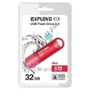 EXPLOYD 570 32GB (красный) - USB Flash driveUSB Flash drive<br>Флэш-накопитель 32 Гб, интерфейс USB 2.0, скорость чтения/записи: 15/8 Мб/с.<br>