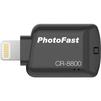 PhotoFast CR-8800 (черный) - Картридер, Card ReaderКартридеры (Card Reader)<br>Картридер, разъем Lightning, совместимость с iOS-устройствами, поддержка файлообмена с облачными сервисами и социальными сетями, расширение возможностей вашего гаджета.<br>