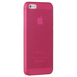 Чехол для Apple iPhone 5, 5S (Ozaki O!coat 0.3 JELLY OC533RD) (красный)