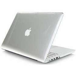 Чехол для ноутбука Apple MacBook Pro 13 with Retina (Ozaki O!macworm TightSuit OA405CT) (прозрачный)