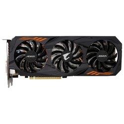 GIGABYTE GeForce GTX 1060 1632Mhz PCI-E 3.0 6144Mb 9026Mhz 192 bit DVI HDMI HDCP AORUS RTL