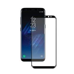 Защитное стекло для Samsung Galaxy S8 (Deppa 62349) (3D, черное)