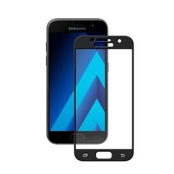 Защитное стекло для Samsung Galaxy A3 2017 (Deppa 62290) (3D, черное)