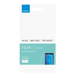Защитная пленка для Samsung Galaxy S8 Plus (Deppa 61438) (прозрачная)