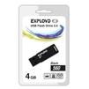 EXPLOYD 560 4GB (черный) - USB Flash driveUSB Flash drive<br>EXPLOYD 560 4GB - флеш-накопитель, объем 4Гб, USB 2.0, 15Мб/с.<br>