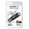 EXPLOYD 570 32GB (черный) - USB Flash driveUSB Flash drive<br>EXPLOYD 570 - флэш-накопитель, объем 32 Гб, интерфейс USB 2.0, скорость чтения/записи: 15/8 Мб/с.<br>