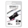 EXPLOYD 580 32GB (черный) - USB Flash driveUSB Flash drive<br>EXPLOYD 580 - флэш-накопитель, объем 32 Гб, интерфейс USB 2.0, скорость чтения/записи: 15/8 Мб/с, выдвижной разъем.<br>