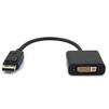 Переходник DisplayPort 20M - DVI 25+4F (Greenconnect GCR-ADP2MDVI) (черный) - Usb, hdmi кабельUSB-, HDMI-кабели, переходники<br>Передает несжатые цифровые видеосигналы высокой четкости (глубина цвета до 8-бит на компоненту).<br>