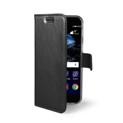 Чехол-книжка для Huawei  P10 Lite (Celly Air Case AIR648BK) (черный)