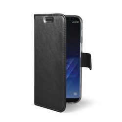Чехол-книжка для Samsung Galaxy S8 (Celly Air Case AIR690BK) (черный)