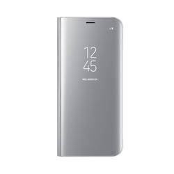 Чехол-книжка для Samsung Galaxy S8 (Clear View Standing Cover EF-ZG950CSEGRU) (серебристый)