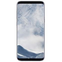 Чехол-накладка для Samsung Galaxy S8 (Clear Cover EF-QG950CSEGRU) (серебристый, прозрачный)