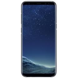 Чехол-накладка для Samsung Galaxy S8 Plus (Clear Cover EF-QG955CBEGRU) (черный)